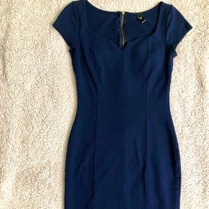 Navy Blue Windsor Dress